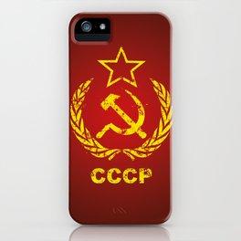 CCCP USSR Communist Used iPhone Case