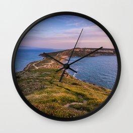 Landscape ocean 5 Wall Clock