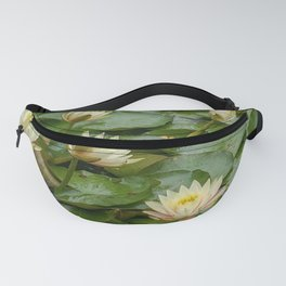 Lotus Blossoms Fanny Pack