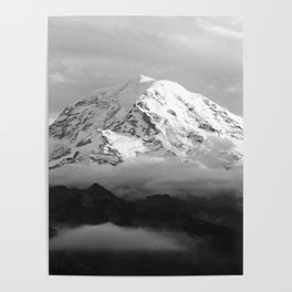 Marvelous Mount Rainier Poster