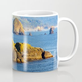Image USA Cannon Beach Ecola State Park Crag Natur Coffee Mug