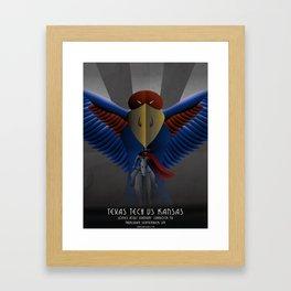 Nighthawks - TTU vs KU 9.29.16 Framed Art Print