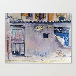 Vestiges Canvas Print