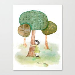 Tree Lover Canvas Print