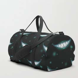 Ghostly Grin Pattern Duffle Bag