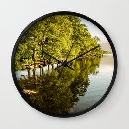 The Lakes Wall Clock