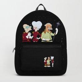 Nimbus Crew: Mom, Prof. Farnsworth and Scruffy Backpack