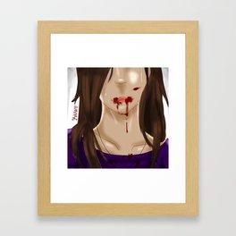 Kenzie .:Tears of Pain:. Framed Art Print