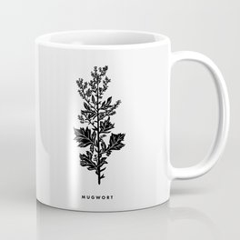Mugwort Botanical Coffee Mug