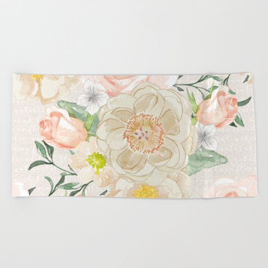 Spring is in the air #31 Beach Towel