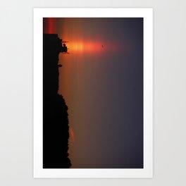 Sunset Torch Art Print