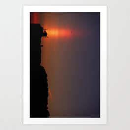 Sunset Torch Art Print