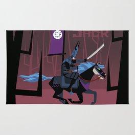 Last Ride of Samurai Jack Rug