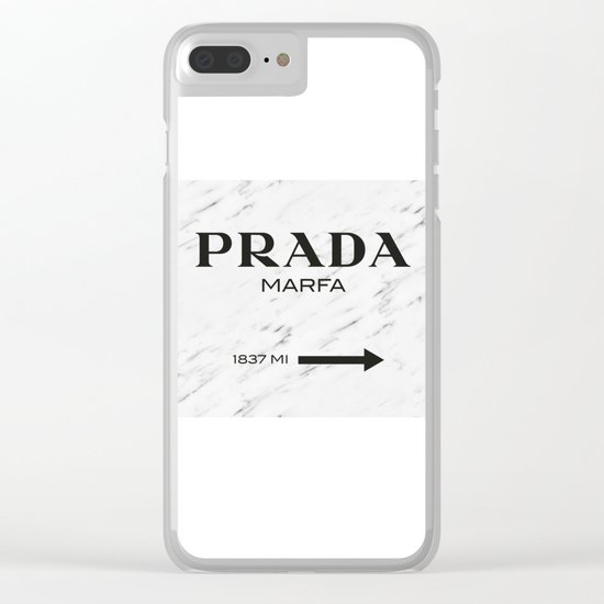 PradaMarfa Clear iPhone Case