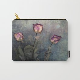 Three Dried Roses III Carry-All Pouch