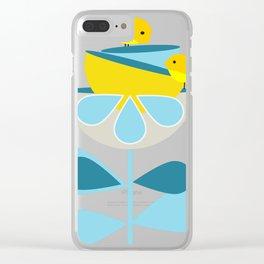 Birdies #society6 #buyart #decor Clear iPhone Case