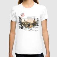 poland T-shirts featuring Poland, Warsaw 1890-1900 by viva la revolucion