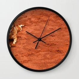Dog by RODOLFO BARRETO Wall Clock