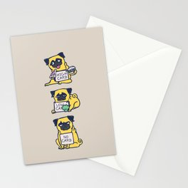 High Carb Low Carb No Carb Stationery Cards