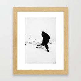 DARK PT 1 Framed Art Print