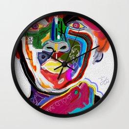 A KELLI OF MANY COLORS Wall Clock