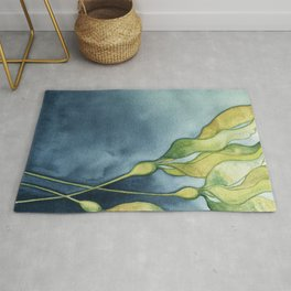 Bull Kelp Watercolor Rug