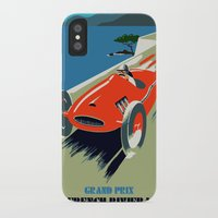 grand theft auto iPhone & iPod Cases featuring Retro style auto Grand Prix Rivièra by aapshop