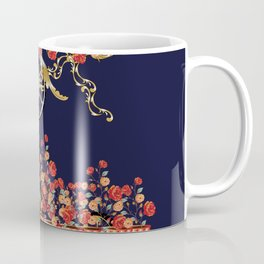 carriage flowers Coffee Mug