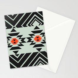 Geometric pair Stationery Cards