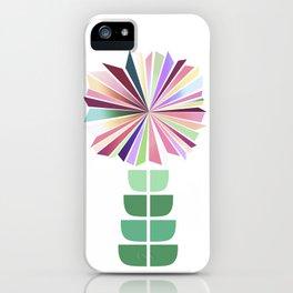 70ies flower No. 1 iPhone Case