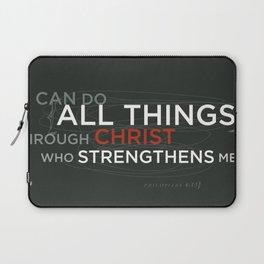 Philippians 4:13 Laptop Sleeve