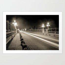 Colorado Street Bridge - Pasadena, CA Art Print