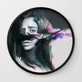 Fibro Wall Clock