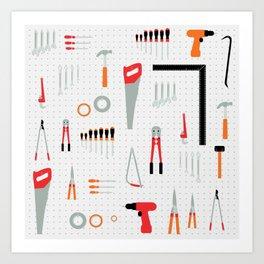 Tool Wall Art Print