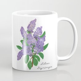 Lilacs: Syringa Coffee Mug