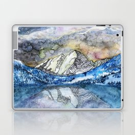 The Maroon Bells Meets  the Sky Laptop & iPad Skin