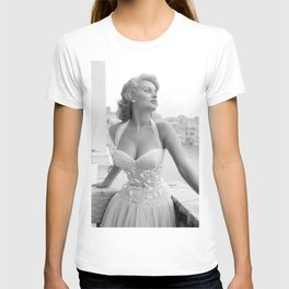 Sophia Loren Celebrity Silk Poster Frameless, Art T-shirt