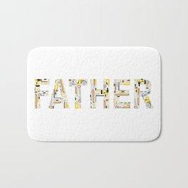 Father the Toolman Bath Mat