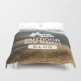 The Outdoor Book Readers Club Duvet Cover