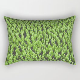 Like Blades of Grass / Large crowd of people illustration Rectangular Pillow