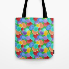 Blobs Pattern Tote Bag