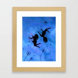 Free As The Wind Framed Art Print