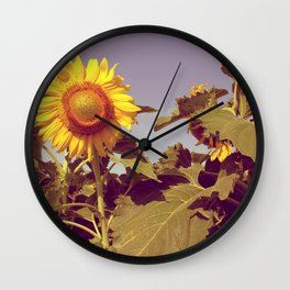 The happy flower! Wall Clock