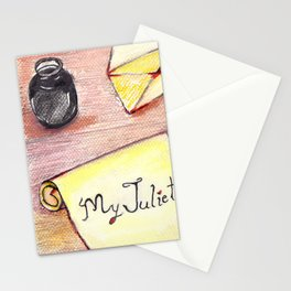 Romeo's Letter Stationery Cards