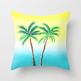 Palm Porn Throw Pillow