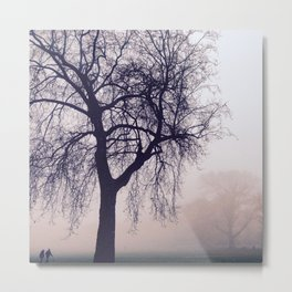 Walking On The Rye Metal Print