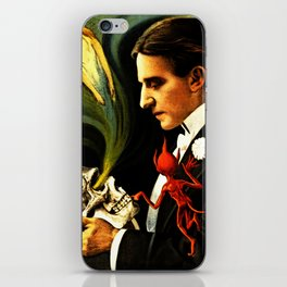 Thurston the Great Magician, the Wonder Show of the Universe. Do the Spirits Come Back? iPhone Skin