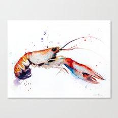 Crawfish Canvas Print