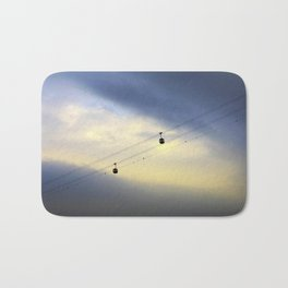 PHOTOGRAPHY / CABLE CAR IN THE SKY 01 Bath Mat