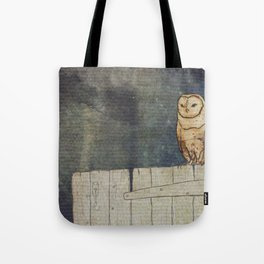Whoo Goes There? Tote Bag